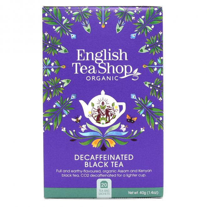 English Tea Shop decaffeinated black tea 20 poser