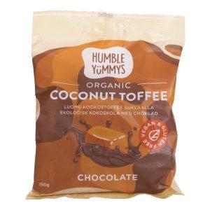 Humble Yummys coconut choco toffee 150 g
