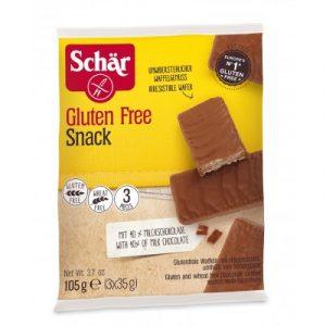 Schar snack sjokolade kjeks 3x35 g