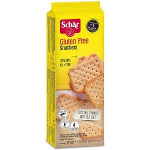 Schar glutenfrie snackers kjeks 115 g