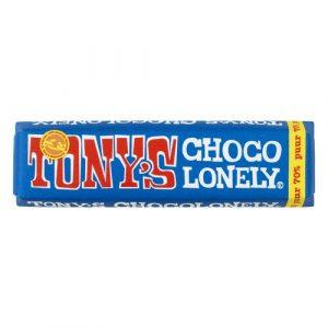 Tony's Chocolonely mørk sjokolade 70% 50 g