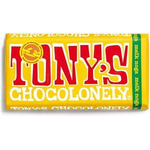 Tonys melkesjokolade nougat 180 g