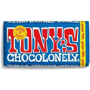 Tony's Chocolonely mørk sjokolade 70%180 g