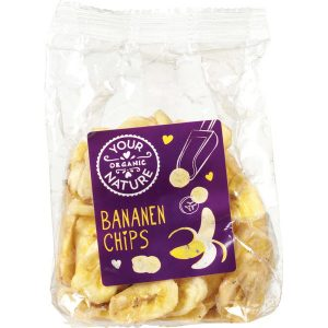 Your Organic Nature bananchips 160 g