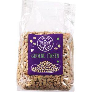 Your Organic Nature grønne linser 400 g