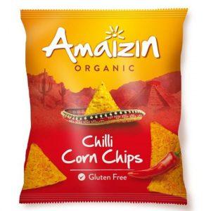 Amaizin tortillachips m/chili 75 g