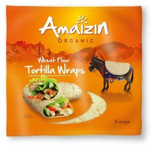 Amaizin tortilla wraps 6 stk 240 g