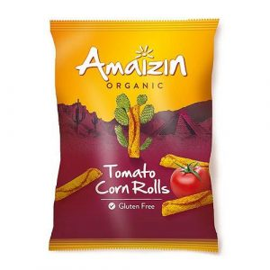 Amaizin rullet tortillachips m/tomat 100 g