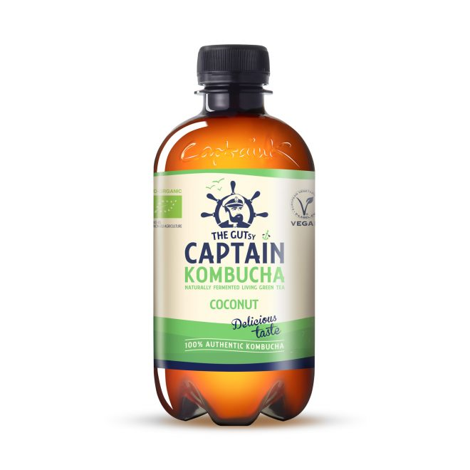 Captain Kombucha coconut summer 400 ml