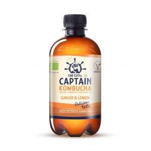 Captain Kombucha ginger lemon 400 ml