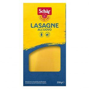 Schar lasagneplater