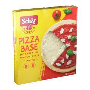 Schar pizzabunn x 2 300g glutenfri
