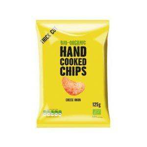 Trafo håndlaget chips ost & løk 125g