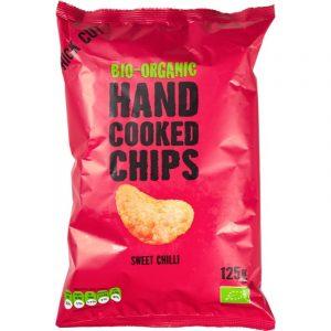 Trafo håndlaget chips m/sweet chili 125g økologisk