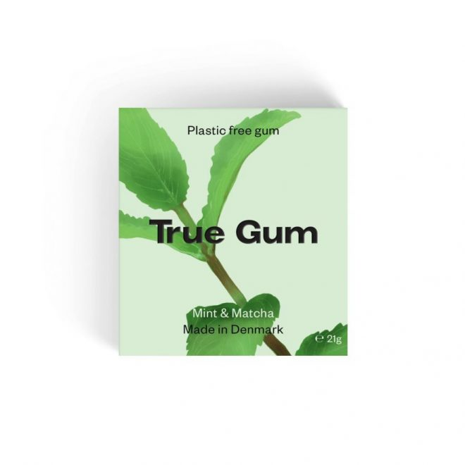 True Gum tyggegummi m/mynte & matcha 20g vegansk