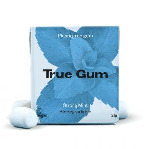 True Gum strong mint tyggegummi 20 g