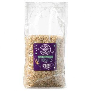 Your Organic Nature langkornet brun ris 800g økologisk