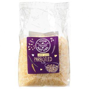 Your Organic Nature parboiled hvit ris 400 g