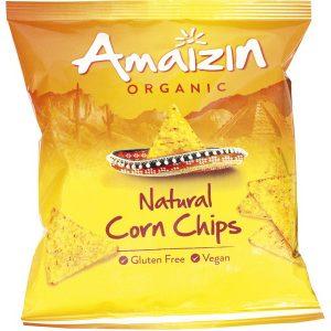 Amaizin corn chips 75 g