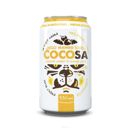 Diet Food coconut water mango 330 ml