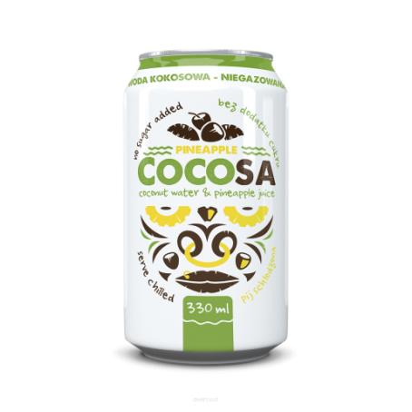 Diet Food coconut water pineapple 330 ml