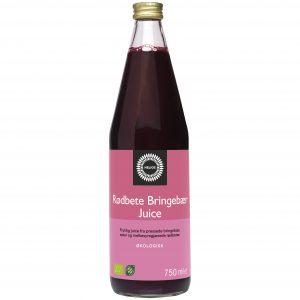 Helios rødbete og bringebærjuice 750 ml