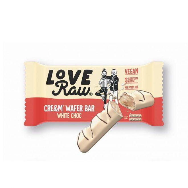 Love Raw white wafer