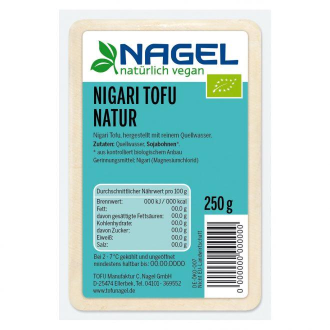 Nagel tofu naturell 250 g