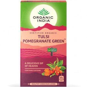Organic India tulsi pomegranate green