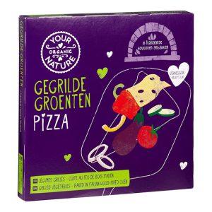 Økologisk pizza m/grillede grønnsaker 350 gr