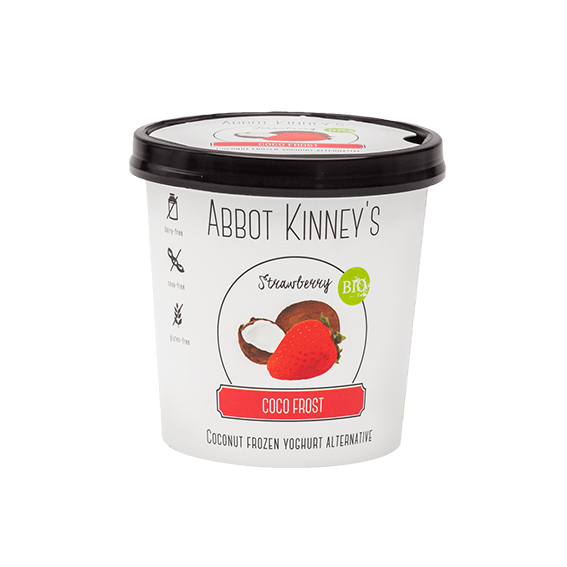 Abbot kinney`s coco frost strawberry 125 ml