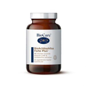 Biocare bio acidophilus forte plus 30 kap