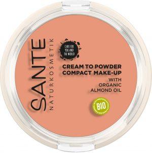 Sante compact make-up 02 warm meadow