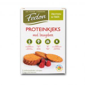 Fedon proteinkjeks bringebaer