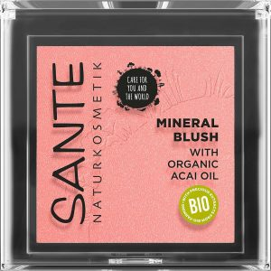 Sante mineral blush 01 mellow peach