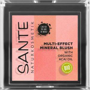 Sante multi-effect mineral blush 01 coral