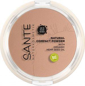 Sante natural compact powder 02 neutral beige