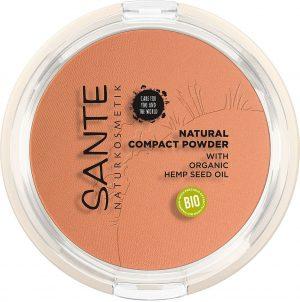 Sante natural compact powder 03 warm honey