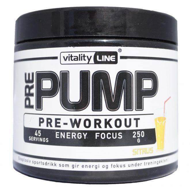 Vitality Line Pre-Workout Sitrus