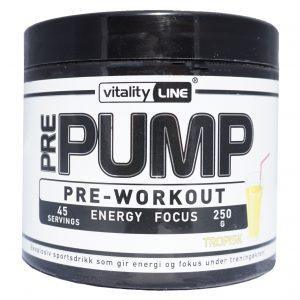 Vitality Line Pre-Workout Tropisk