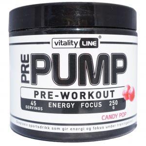 Vitality Line Pre-Workout Candy Pop