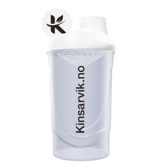 Risteflaske hvit