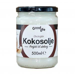 Goodlife pure kokosolje 500 ml