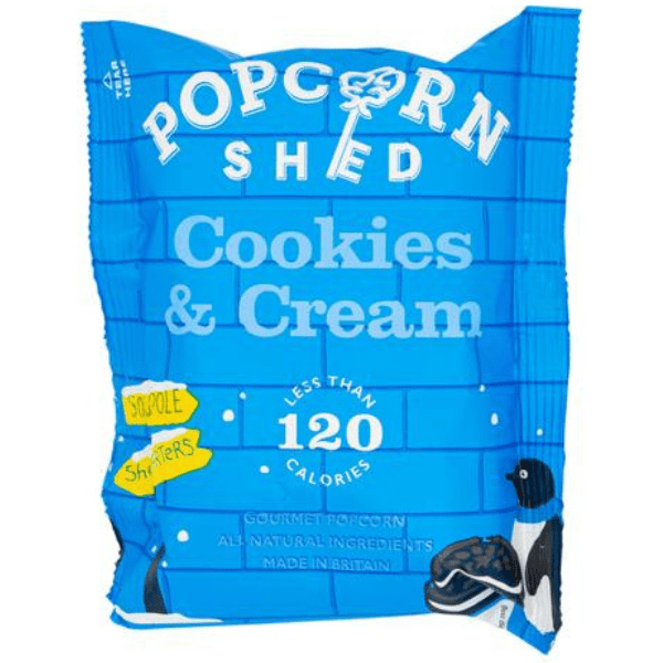 Popcorn Shed cookies and cream popcorn 24 g