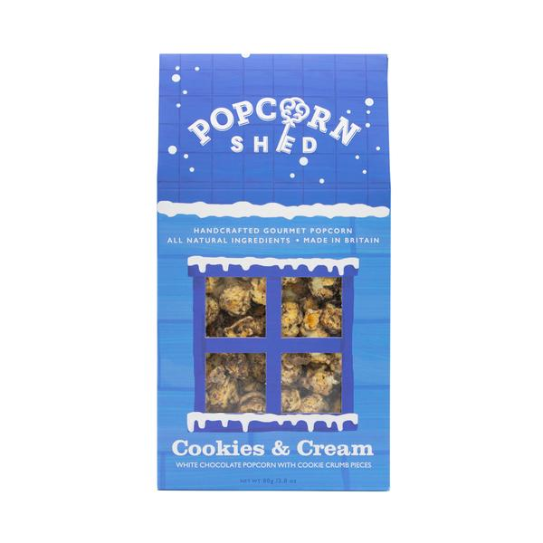 Popcorn shed cookies and cream 80 g