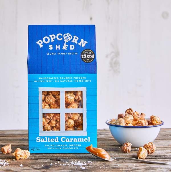 Popcorn Shed salt caramel popcorn 80 g