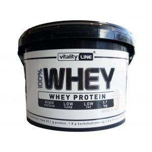 Vitality Line whey protein vanilje 2,7 kg