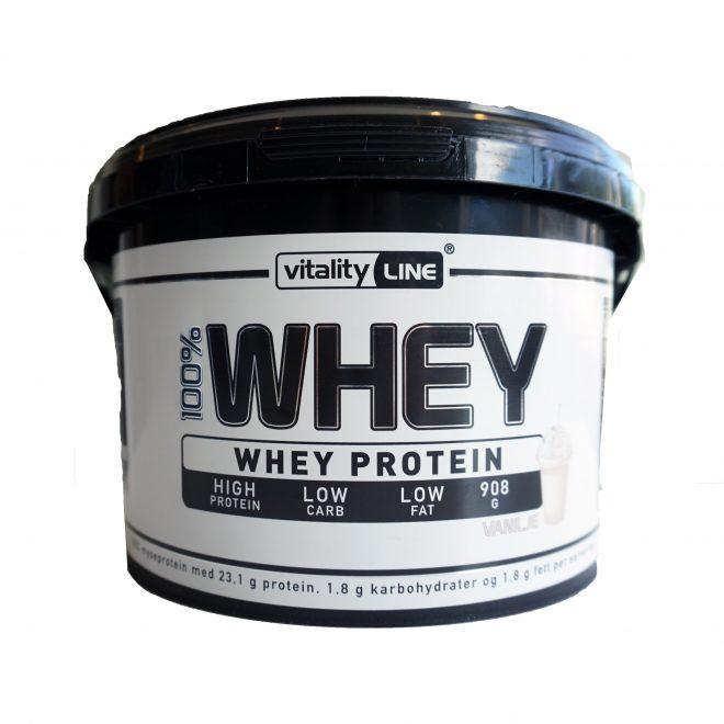 Vitality Line whey protein vanilje 908 g