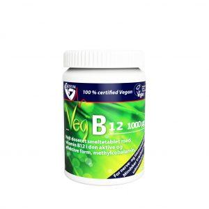 Biosym B12 1000µg 120 sugetabletter