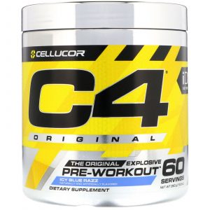 Cellucor C4 icy blue raspberry pre-workout 390 g